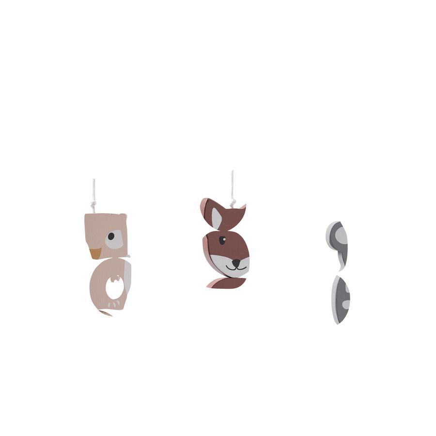 Kids Concept® Figurines pour portique d'activités Edvin, bois