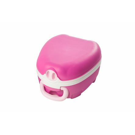 My Carry Potty Travel potta vaaleanRED 18. kuukaudesta