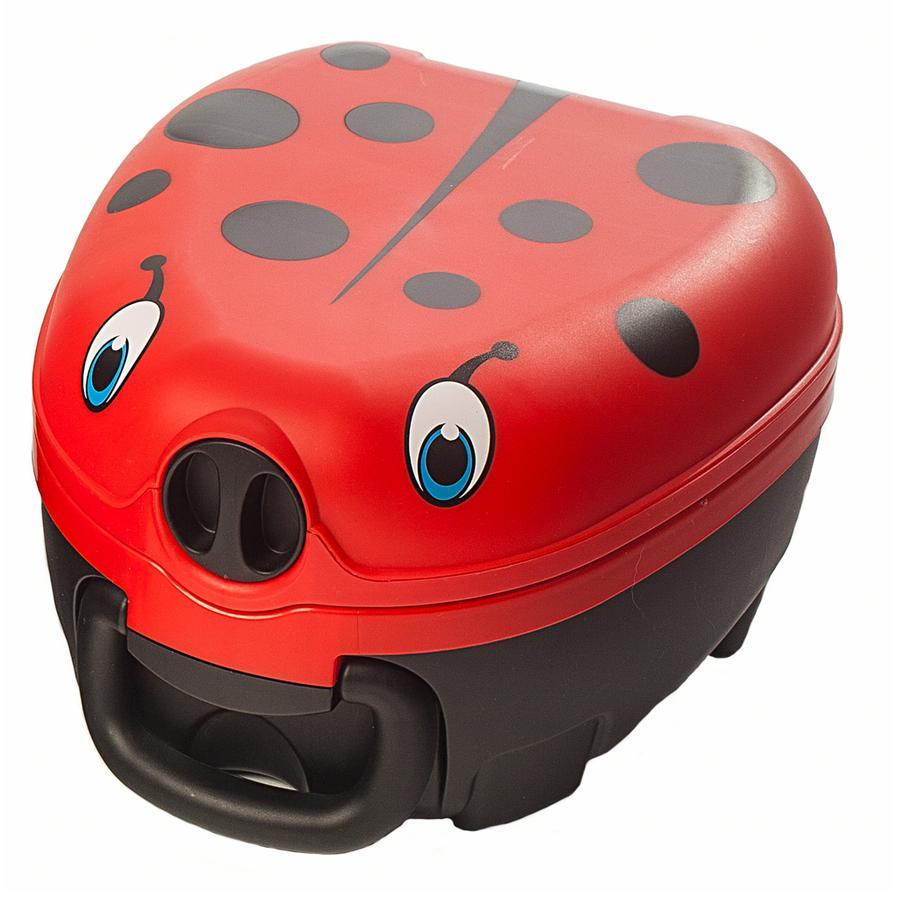 My Carry Potty Potje voor op reis Lieveheersbeestje