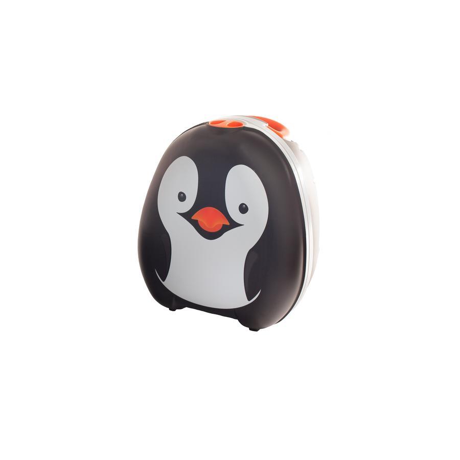 My Carry Potty Pot bébé de voyage 18 m+ pingouin blanc/noir