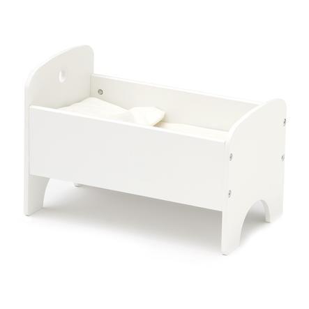 Kids Concept® Puppenbett inkl. Bettwäsche, weiß