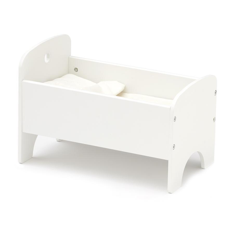 Kids Concept ® Panenská postel vč. ložní prádlo, bílé