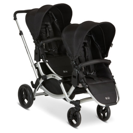 ABC DESIGN Syskonvagn Zoom Black