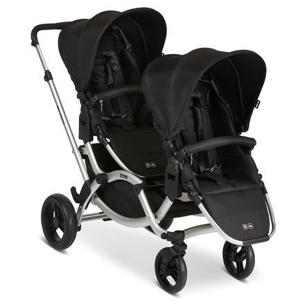 ABC DESIGN Wózek podwójny Zoom Black