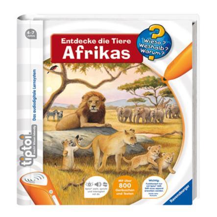 RAVENSBURGER tiptoi Wieso? Weshalb? Warum? 9: Entdecke die Tiere Afrikas