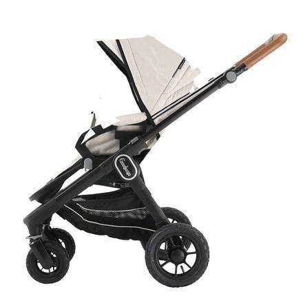 Emmaljunga Kinderwagen NXT 60 Flat Black Outdoor AIR/Lounge Beige