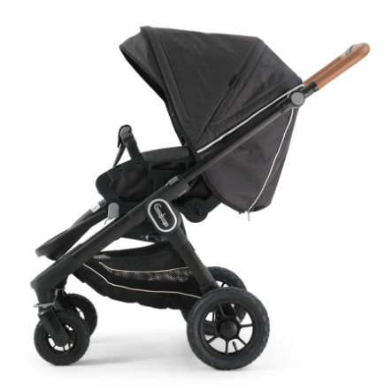 Emmaljunga Kinderwagen NXT 60 Flat Black Outdoor AIR/Lounge Black