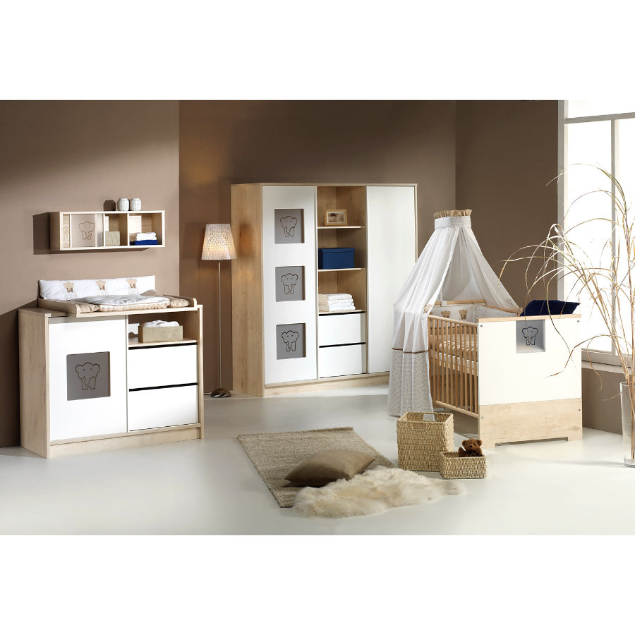 schardt eco slide chambre d 39 enfant avec armoire 2 portes et tag res centrales. Black Bedroom Furniture Sets. Home Design Ideas