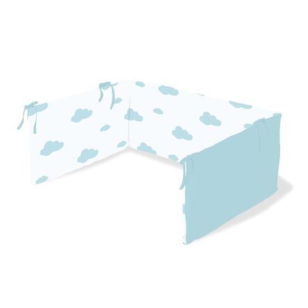 Pinolino Tour de lit enfant nuages bleu clair 140x70 cm