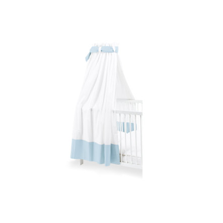 Pinolino Himmel für Kinderbetten weiß / hellblau