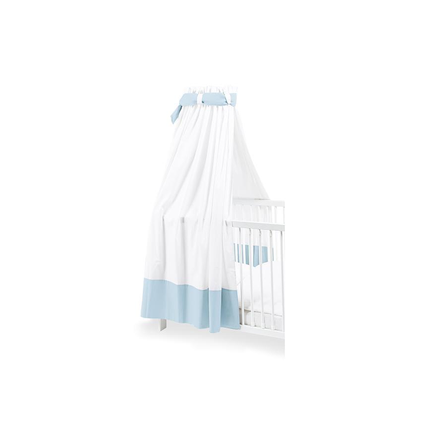 Pinolino Hemeltje voor kinderbedden wit / lichtblauw