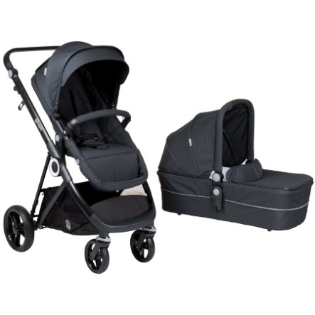 babyGO Poussette duo combinée Vogue dark grey