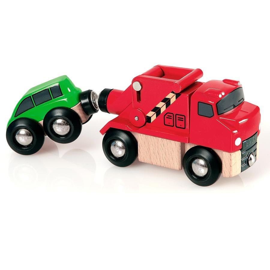 BRIO Grúa con coche 33528