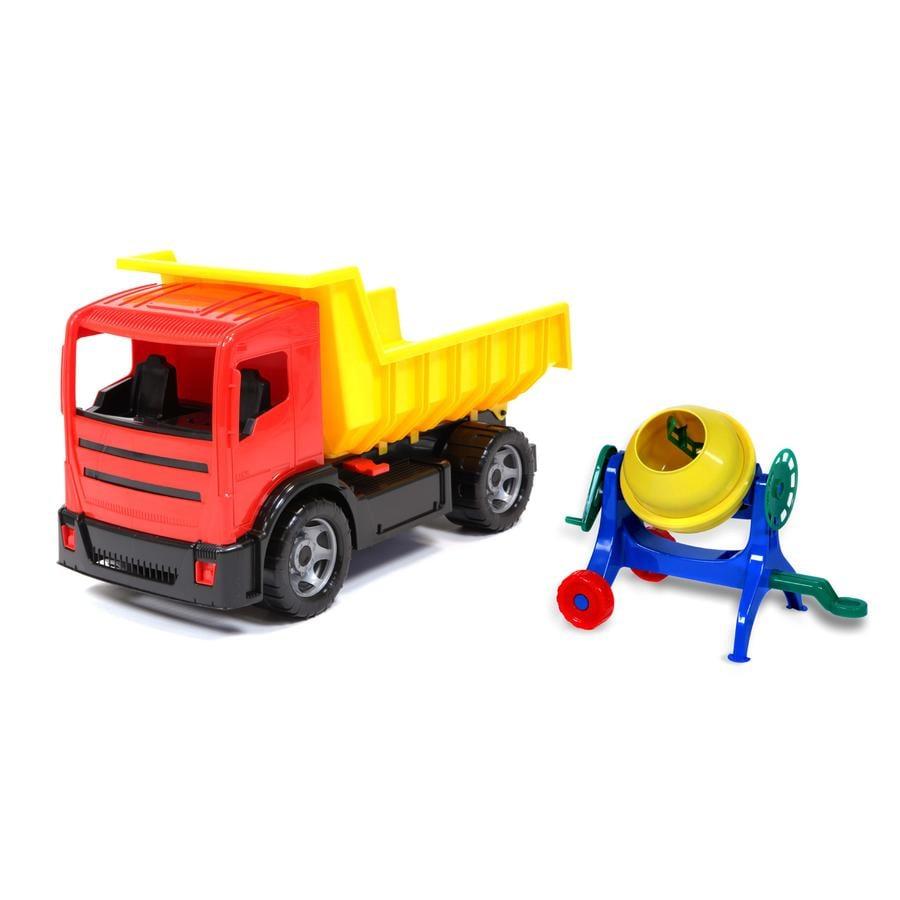 LENA Camion-benne géant et bétonnière
