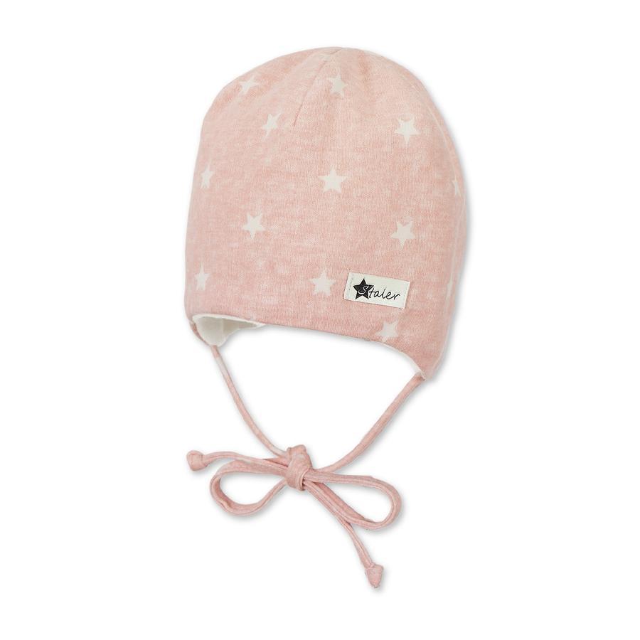 Sterntaler Girls Bonnet rose pâle