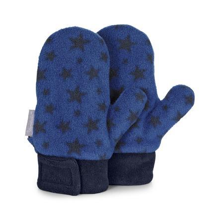 Sterntaler Fäustel Microfleece blau