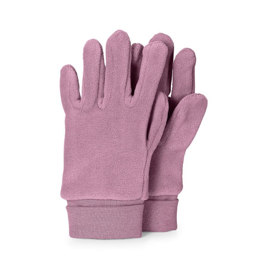 Sterntaler Gant de doigt Microfleece violet clair Microfleece