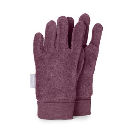 Sterntaler Fingerhandschuh Microfleece lila melange