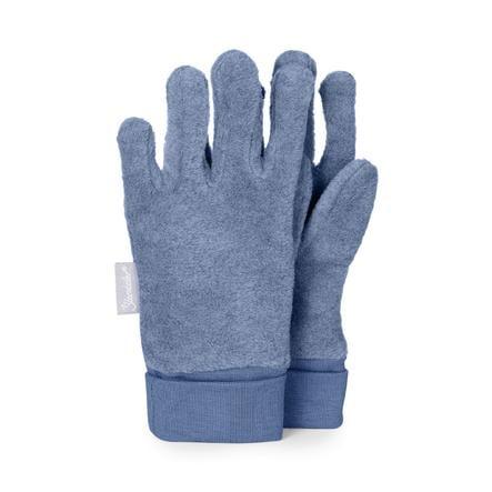 Sterntaler Fingerhandschuh Microfleece mittelblau