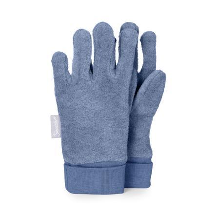 Sterntaler Guante de dedo Microfleece azul medio