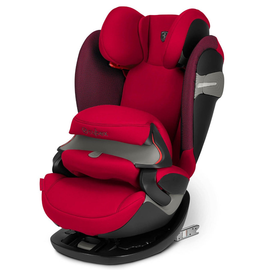 cybex GOLD Kindersitz Pallas S-Fix Scuderia Ferrari Racing Red