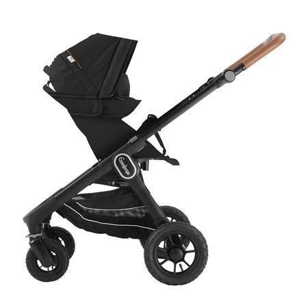 Emmaljunga Kinderwagen NXT 60 mit Wanne Black Outdoor AIR/Outdoor Black