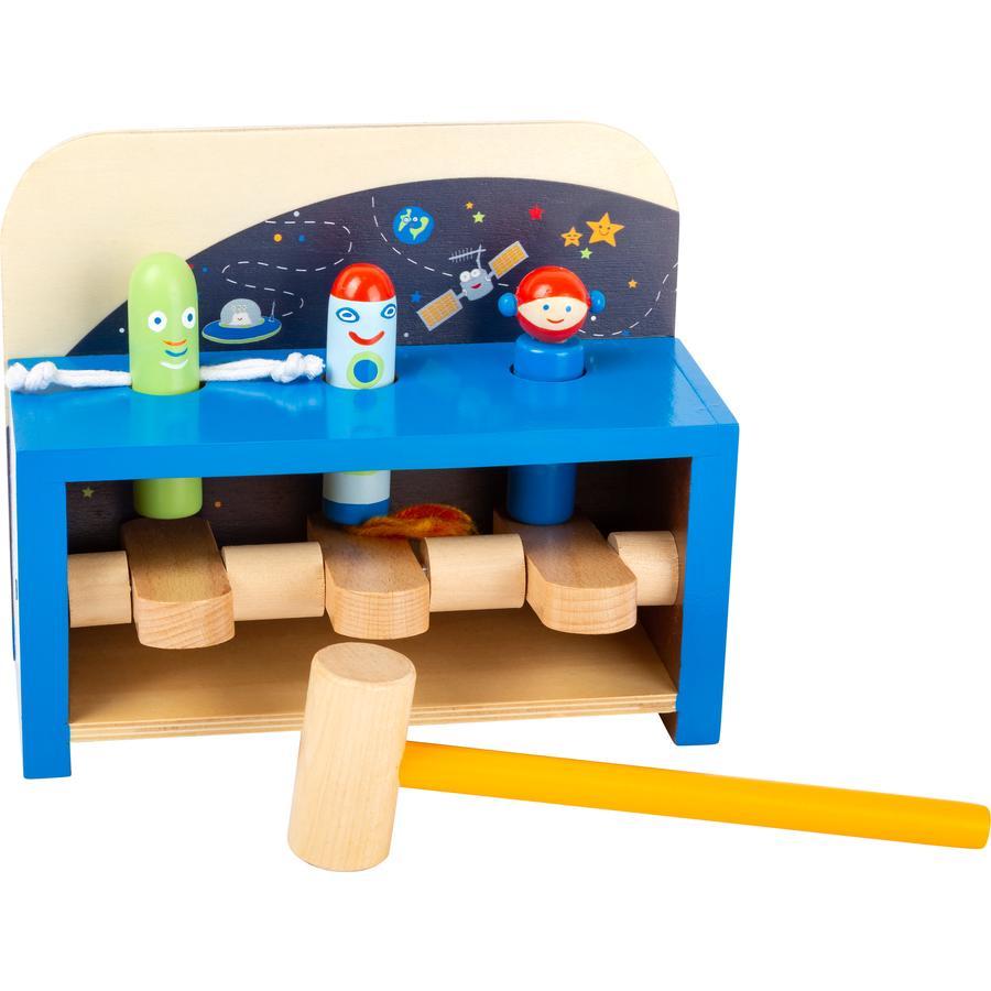 small foot® Banc à marteler enfant Space, bois