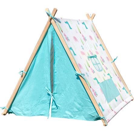 small foot® lek telt elefant og krokodille pinkorblue.no