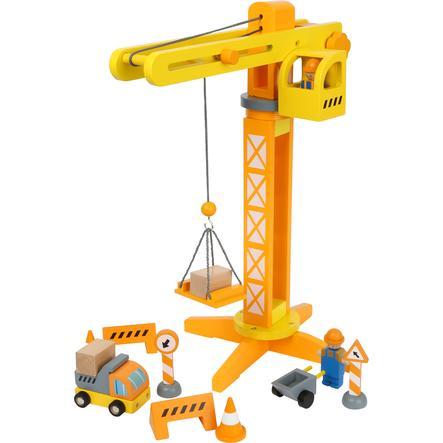 malá noha Stavební jeřáb s příslušenstvím pro staveniště