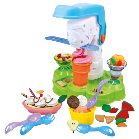SIMBA ART & FUN Plasticine Set Ice-Cream Parlour