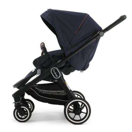 Emmaljunga Kinderwagen NXT 60 Flat Black/Outdoor Navy