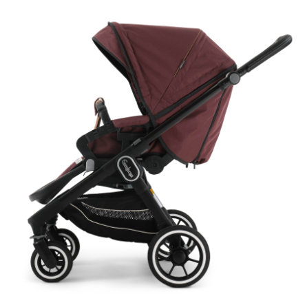 Emmaljunga Kinderwagen NXT 60 Flat Black/Outdoor Savannah
