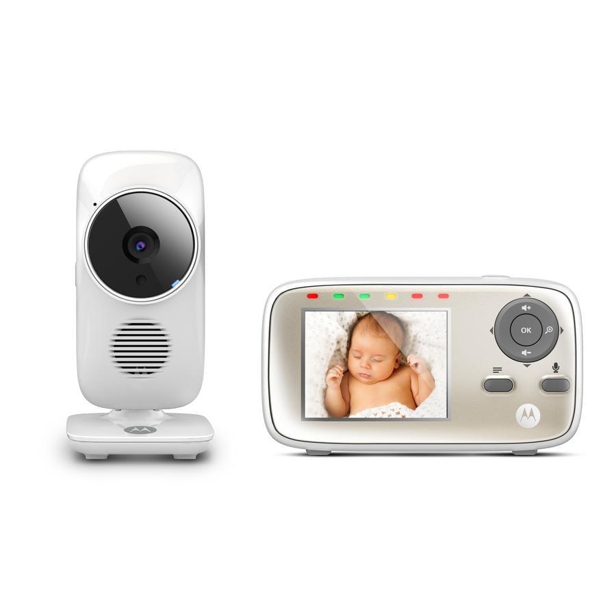 """Motorola MBP483 monitor dziecięcy MBP483 z kolorowym wyświetlaczem LCD 2,8""""."""