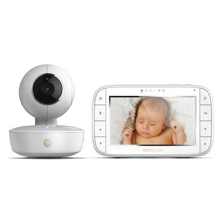 """Motorola Monitor de video para bebés MBP50 con pantalla a color de 5.0"""" LCD"""