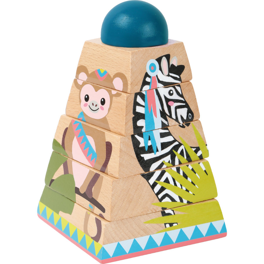 small foot  cube puzzle tower Jungle