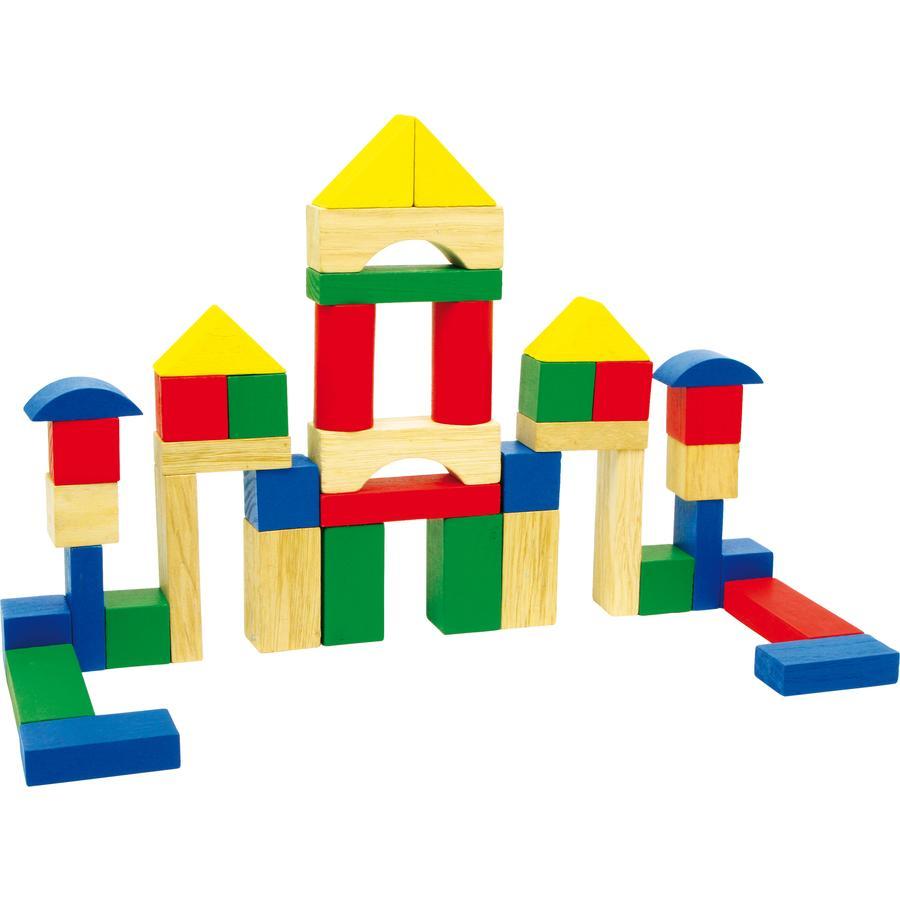 small foot® Cubes enfant Luca bois 40 pièces