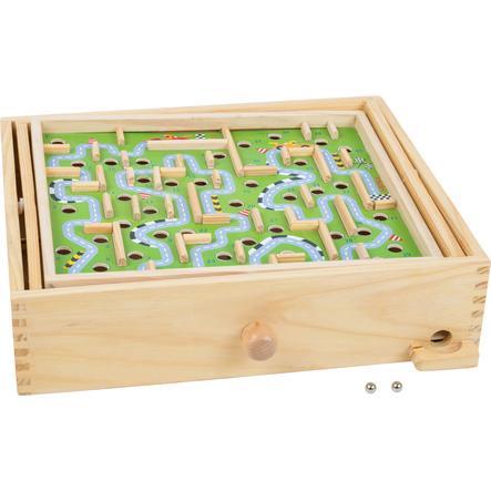 small foot pallo labyrintti kilparata