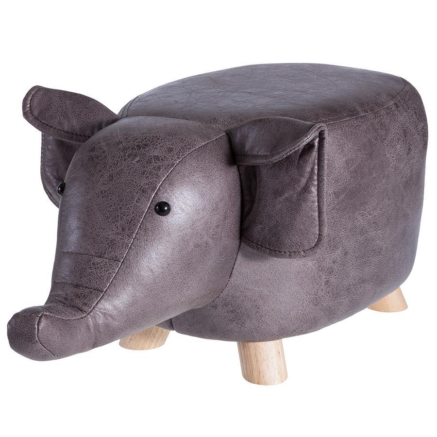 howa® Sitztier/Polsterhocker für Kinder - Cozy Cactus