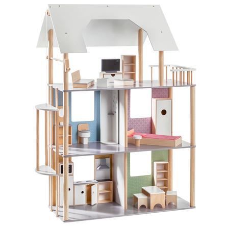 howa® Puppenhaus für Ankleidepuppen bis 30 cm