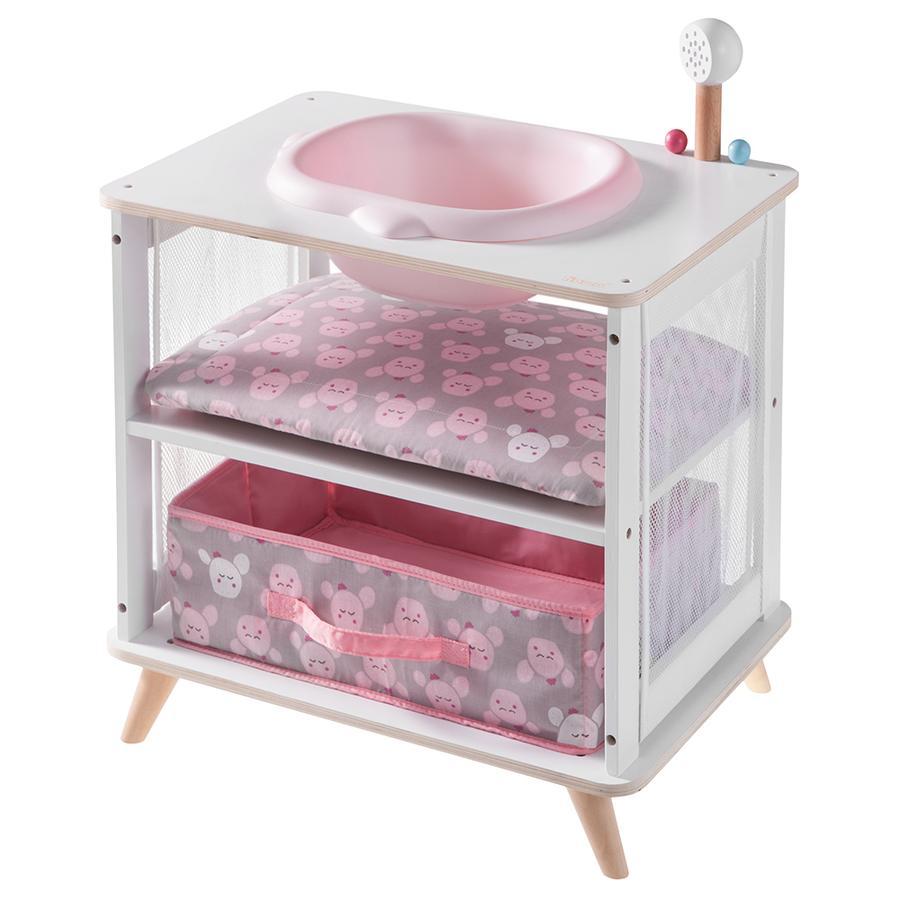 howa® Combi bain table à langer pour poupée 2en1 Cozy Cactus
