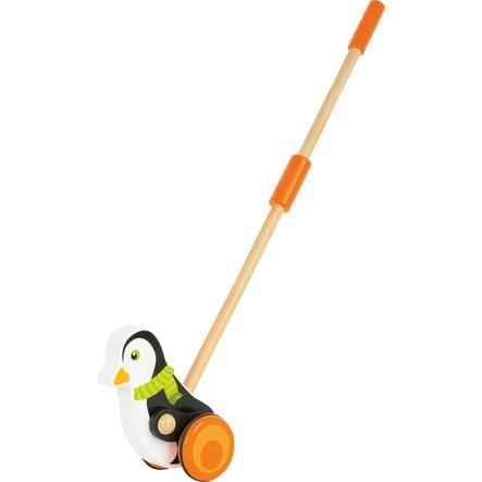 small foot® Jouet à promener pingouin, bois