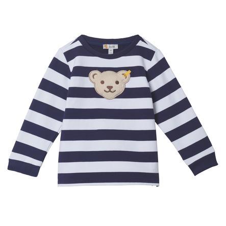 Steiff Chłopcy Sweatshirt, patriotyczny niebieski.