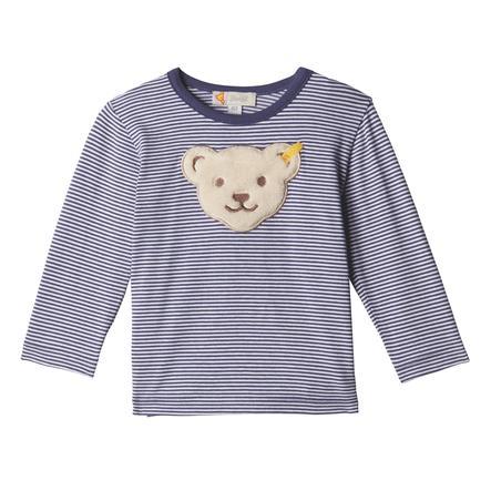 Steiff Camisa manga larga de niño, azul
