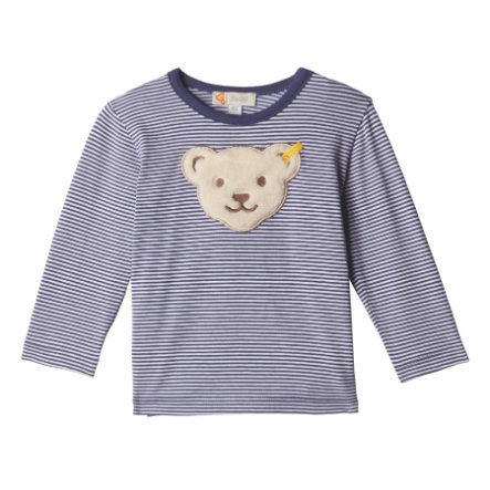 Steiff Chlapecké tričko s dlouhým rukávem, modré