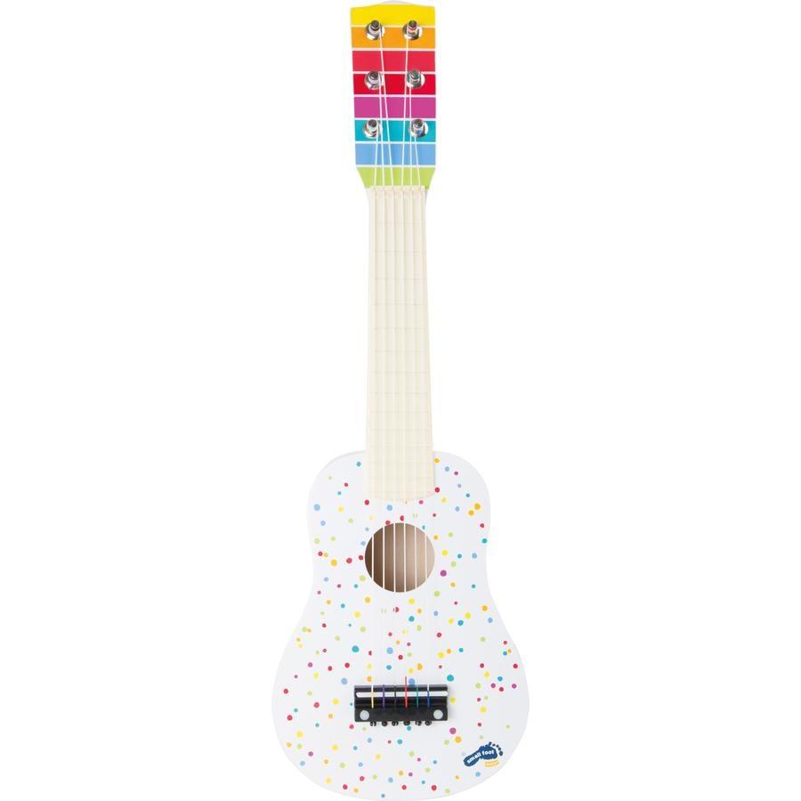 small foot® Guitare enfant blanc, bois