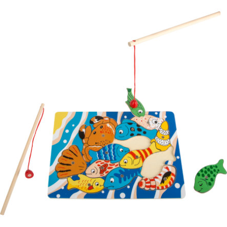 small foot  juego de pesca puzzle