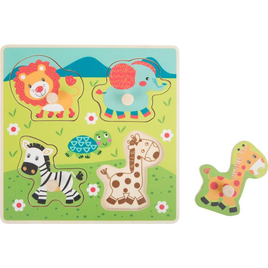 malá noha Setpuzzle Safari