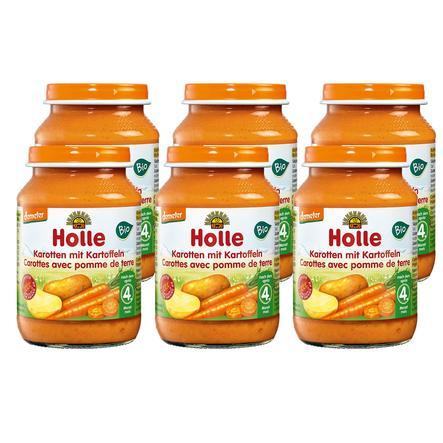 Holle Bio Karotten mit Kartoffeln 6 x 190 g