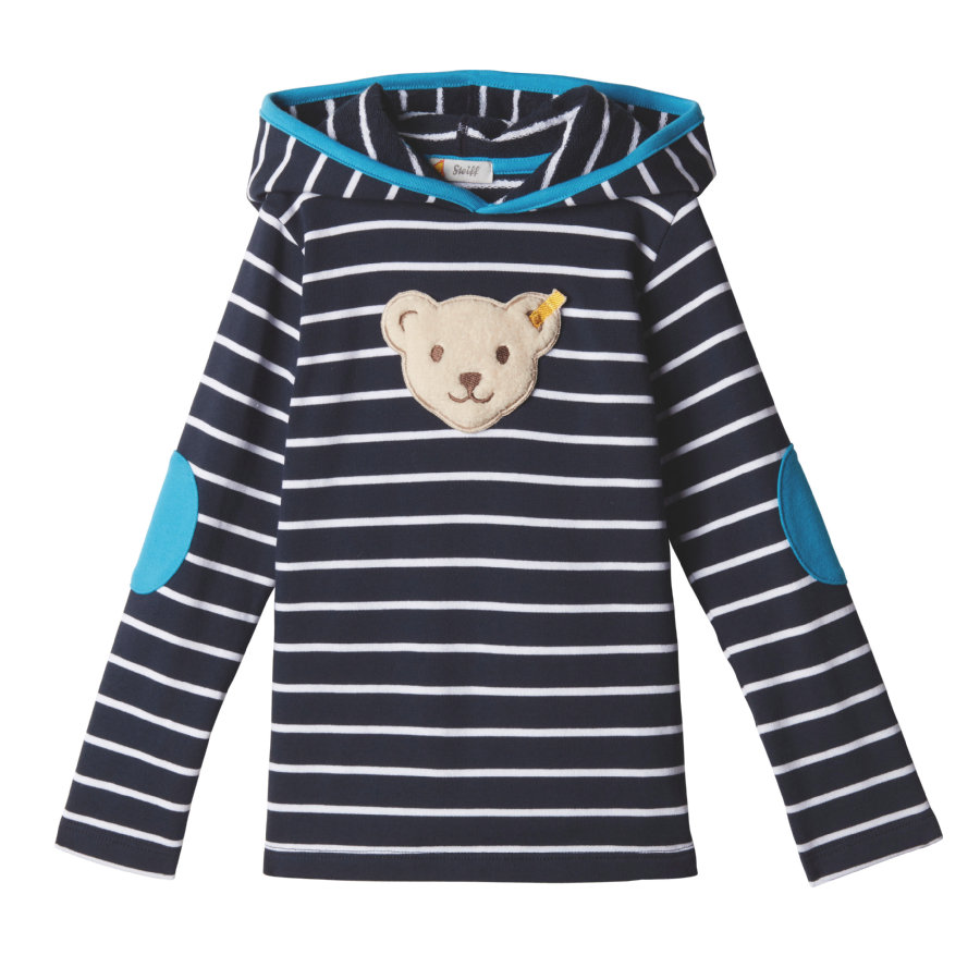 Steiff Boys Sweatshirt, black Iris