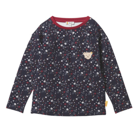 Steiff Girls Sweater, iris, black iris